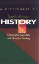 A Dictionary of South African History