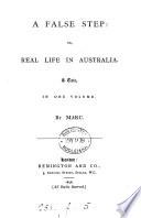 A false step  or  Real life in Australia