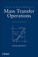 Cover of Principles and Modern Applications of Mass Transfer Operations