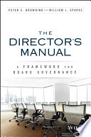 The Director s Manual