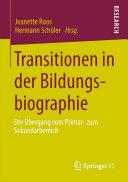 Transitionen in der Bildungsbiographie