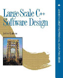 Large Scale C Software Design