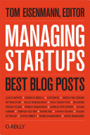 Managing Startups: Best Blog Posts