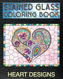 Heart Designs Stained Glass Coloring Book