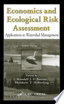 Economics and Ecological Risk Assessment Book