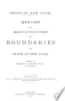 Report of the Regents of the University, on the Boundaries of the State of New York Pdf/ePub eBook