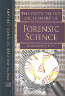 Cover of The Facts on File Dictionary of Forensic Science