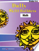 Daily Skill Builders Math 5 6 Book