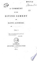 A Comment on the Divine Comedy of Dante Alighieri