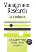 Cover of Management research