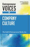Entrepreneur Voices on Company Culture Pdf/ePub eBook