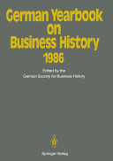 German Yearbook on Business History 1986