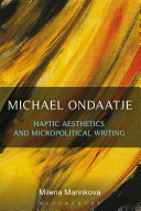 Pdf Michael Ondaatje: Haptic Aesthetics and Micropolitical Writing Telecharger