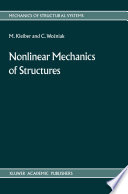 Nonlinear Mechanics of Structures Book