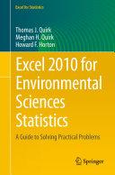 Excel 2010 for Environmental Sciences Statistics