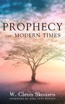Prophecy and Modern Times Pdf/ePub eBook