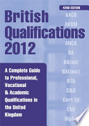 British Qualifications 2012