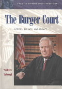 The Burger Court