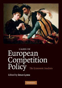 Cases in European Competition Policy