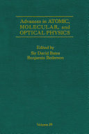 Advances In Atomic Molecular And Optical Physics
