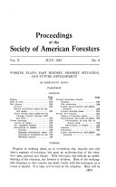 Proceedings of the Society of American Foresters     National Convention Book