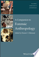 A Companion to Forensic Anthropology Book