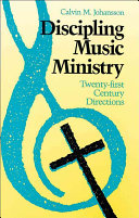 Discipling Music Ministry