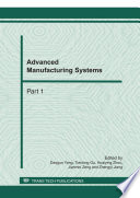 Advanced Manufacturing Systems  ICMSE 2011
