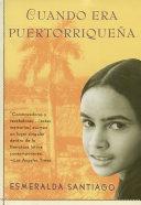 Cuando era puertorrique  a Book PDF