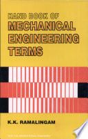 Hand Book Of Mechanical Engineering Terms