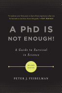 A PhD Is Not Enough!