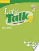 """Let's Talk Level 2 Teacher's Manual 2 with Audio CD"" by Leo Jones"