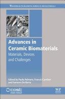 Advances in Ceramic Biomaterials