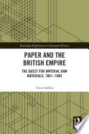 Paper and the British Empire