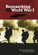 Researching World War I