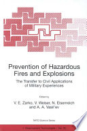Prevention of Hazardous Fires and Explosions Book