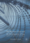 The Supreme Court and the Development of Law