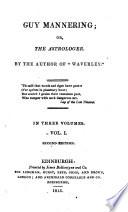 Guy Mannering, Or, The Astrologer