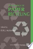 Technology of Paper Recycling Book