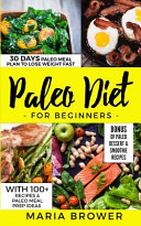 Paleo Diet For Beginners Book