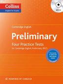 Cambridge English - Preliminary