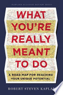 What You re Really Meant to Do Book