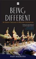 Being Different : An Different Challenge To Western Universalism ebook