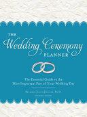 The Wedding Ceremony Planner Book