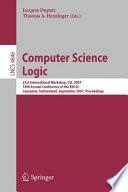 Computer Science Logic Book
