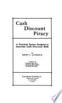 Cash discount piracy