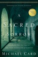 A Sacred Sorrow Pdf