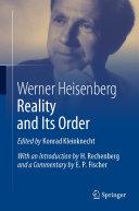 Reality and Its Order Pdf/ePub eBook