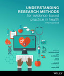 Cover of Understanding Research Methods for Evidence-based Practice in Health