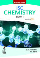 ISC Chemistry Book 1 for Class XI  2021 Edition